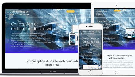 Conception de site web entreprise