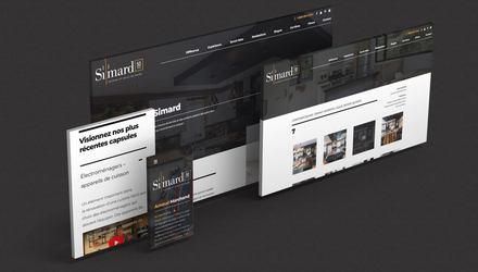Simard Cuisine et Salle de bains | Plateforme Web