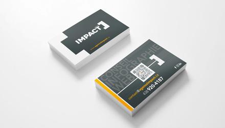 Cartes d'affaires IMPACT