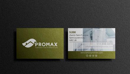 Cartes d'affaires PROMAX