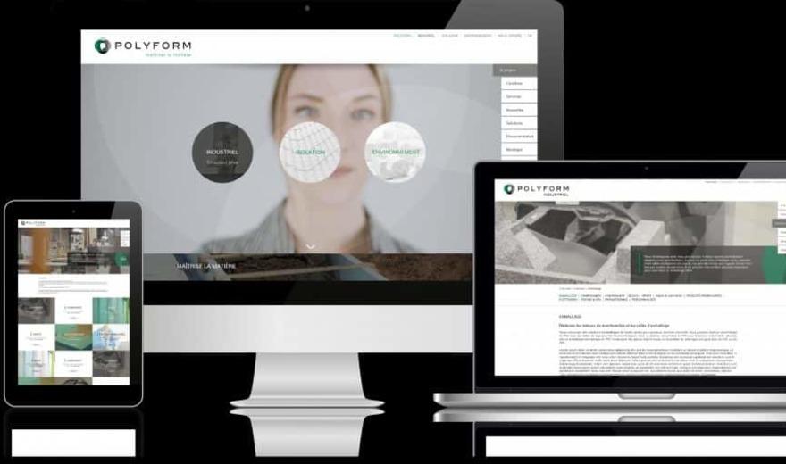 Site web Polyform
