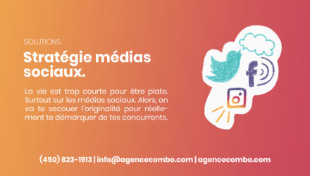 Solutions - Stratégie médias sociaux