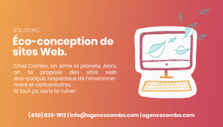 Solutions - Éco-conception de sites Web