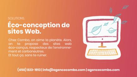 Solutions - Éco-conception de sites Web