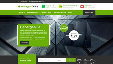 Logo Hebergeur Web