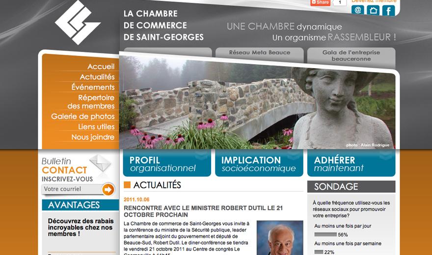 La Chambre de commerce de Saint-Georges
