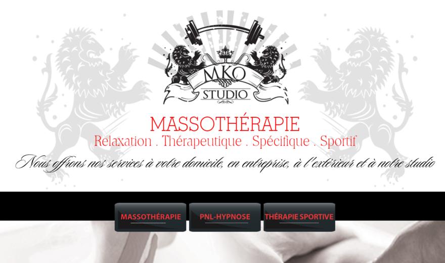 Studio massothérapie