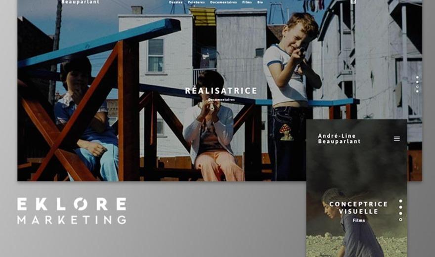 Site web - André-Line Beauparlant
