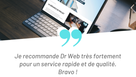Site Web Groupe DSL