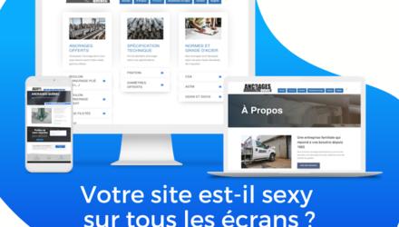 Site Web Ancrages Québec
