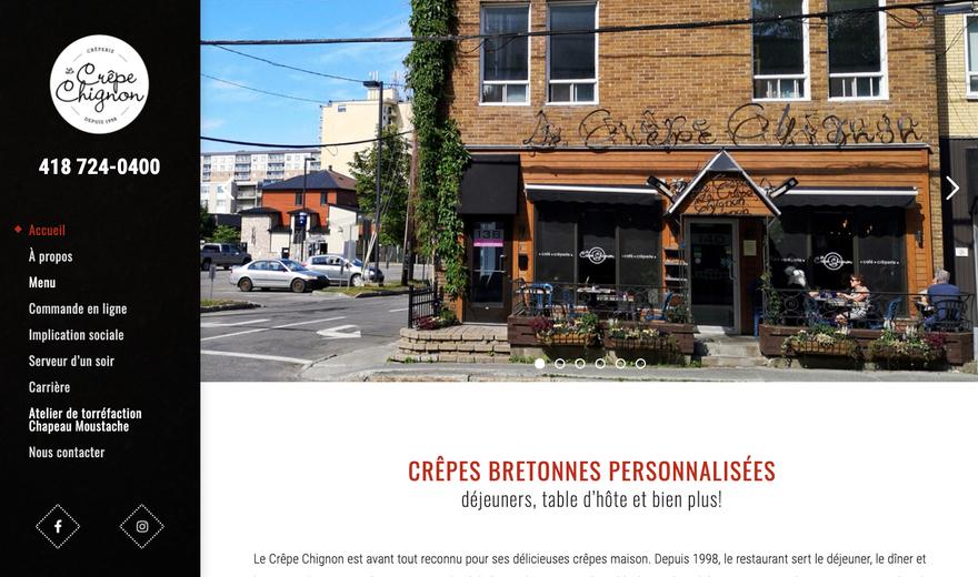 Le Crêpe Chignon | Café-crêperie