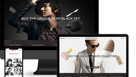 Site Web Les boutiques Surmesur