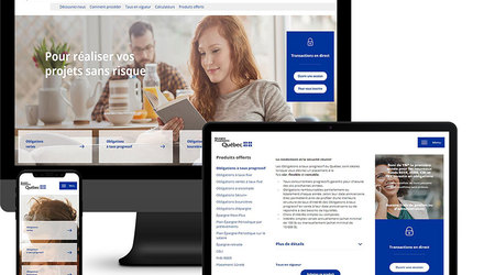 Site Web Epargne Placements Quebec