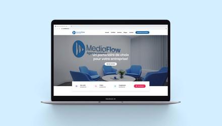Site web de l'agence Média Flow