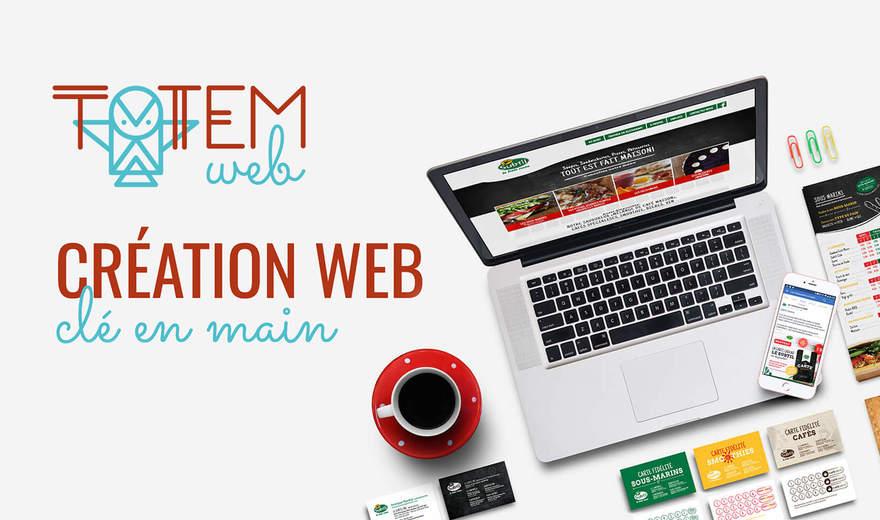 Totem Web - Conception de sites Web clé en main