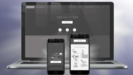 Maquette organisationnelle d'un site Web