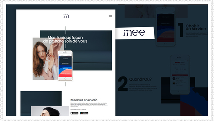 Une application multiplateforme mobile pour un service de beauté