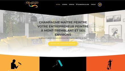 site web entrepreneur peintre