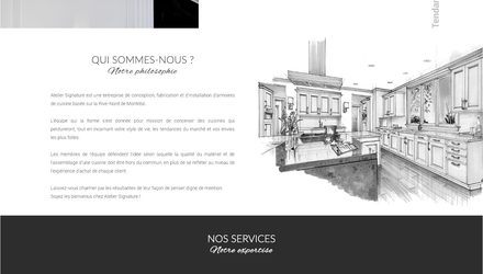 Conception site web laval - Atelier Signature