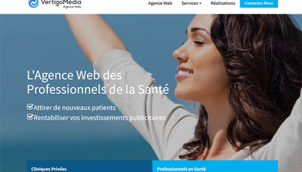Agence Marketing Web Sante