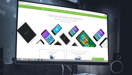Site web pour SOS Phone