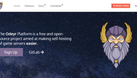 Odeyr - Site internet