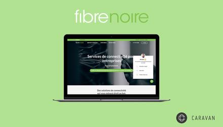 Fibrenoire - Site web