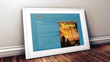 Conception d'un magazine WEB pour Xaragua Magazine