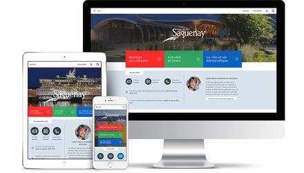 Design site web Ville Saguenay