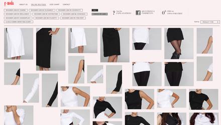 Gdotmoda vêtements transformables