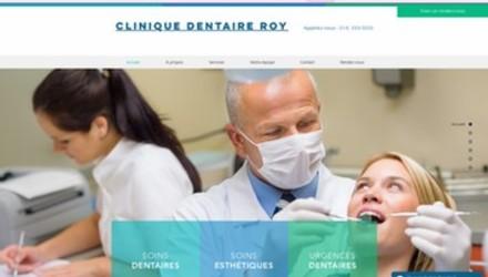 Modèle de site web dentiste