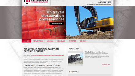 Excavation Patrice Couture