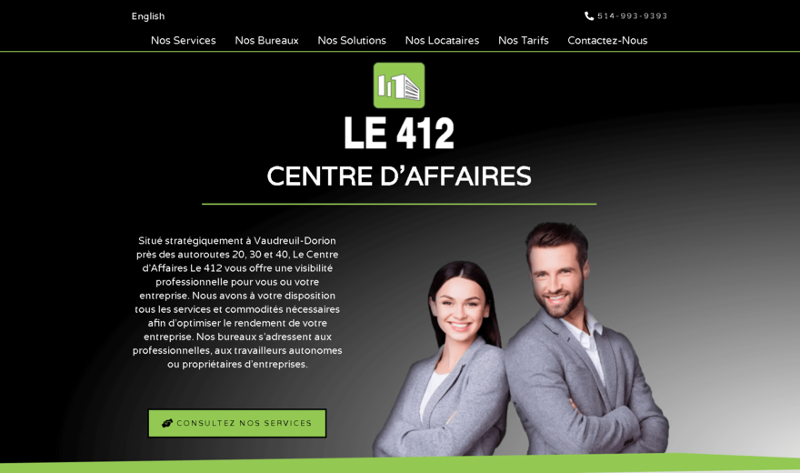 Centre d'affaires LE 412