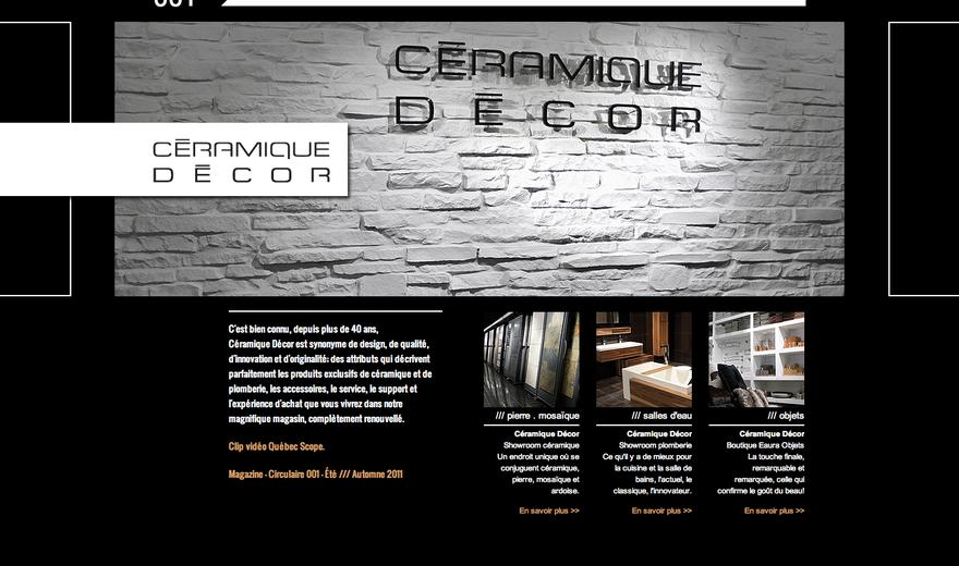 Site web Céramique Décor
