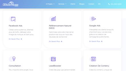 Agence marketing web SEO-SEM-SMM- LeadStream