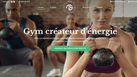 Conception de site Web - L'Atelier Sportif