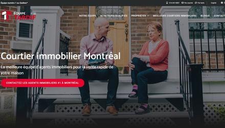 Conception de site Web - Équipe Tardif