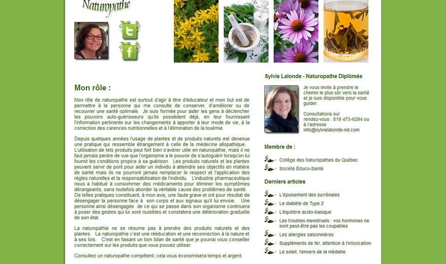 Sylvie Lalonde - ND