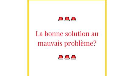 Identifiez les bonnes solutions avec vos clients