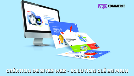 Création de sites web - Solution clé en main