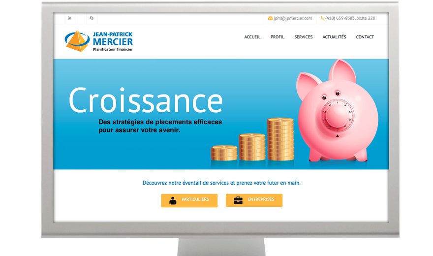 Jean-Patrick Mercier planificateur financier