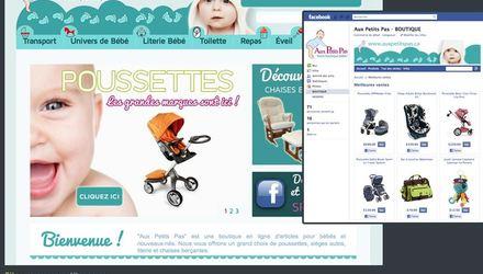 E-Commerce : Aux Petits Pas