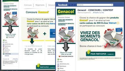 Concours Facebook Genacol