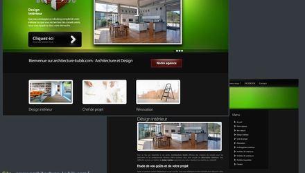 Site Web : Architecture Kubik