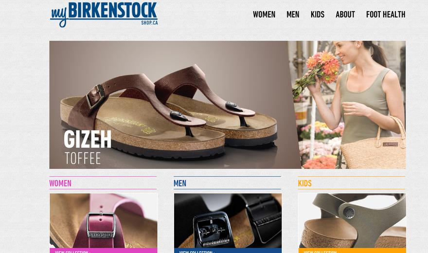 E-Commerce Birkenstock Canada
