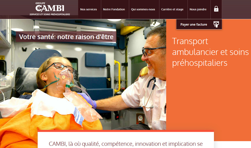 CAMBI Services et soins préhospitaliers