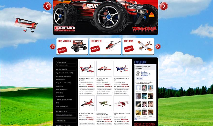 QTM-rc.com  Québec Le site du téléguidé 65 mille produits.