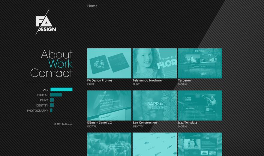 Site Web FA Design