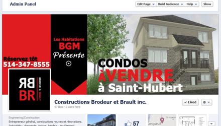 Page Facebook personnalisée