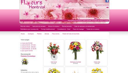 Fleuriste Montreal est une boutique de fleurs en ligne.